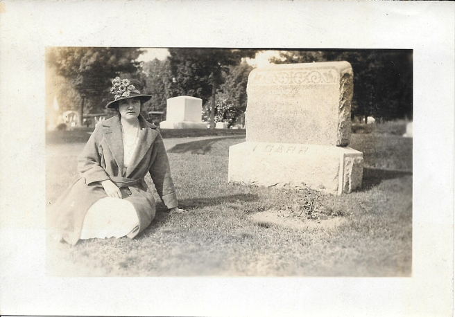 blog CARR Lysander and Julia GRAVESITE