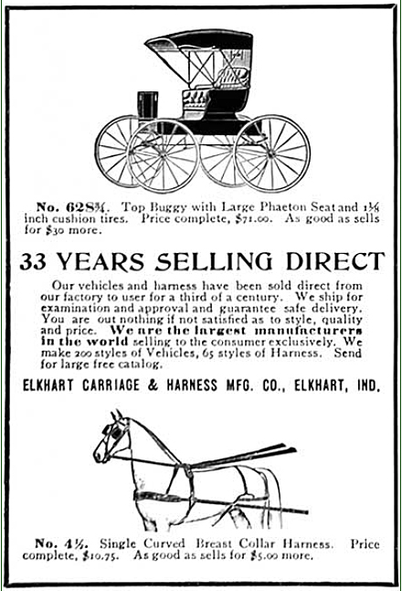 Elkhart Carriage and Harness Manufacturing