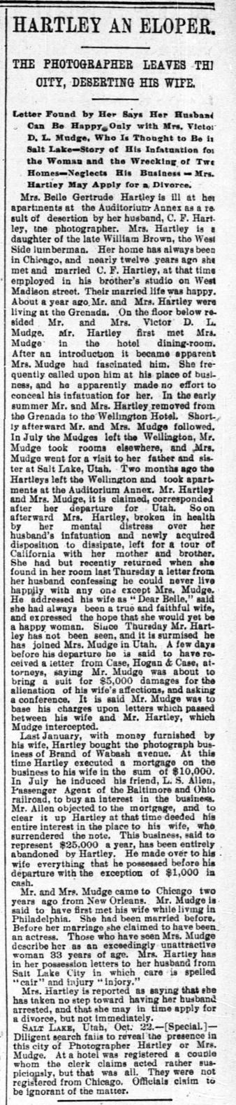 blog 1894 Oct 23 HARTLEY Charles DESERTION Chicago Tribune