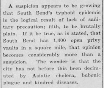 1917 Sep 27 TYPHOID Bremen Enquirer