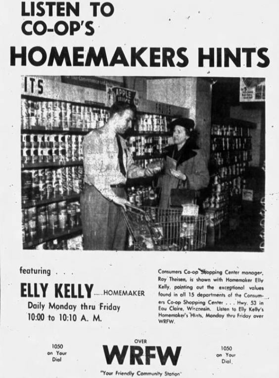 1952 Feb 7 HOMEMAKER'S HINTS Leader Telegram Eau Claire WI