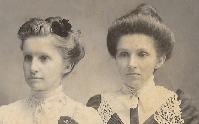 archer gertrude and harriet veras half sisters