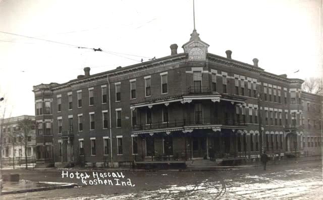 Goshen, IndianaHotel Hascall c1908