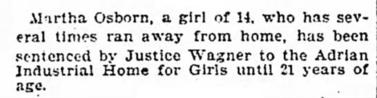 1899 Aug 15 OSBORN Martha AHfG Detroit Free Press MI