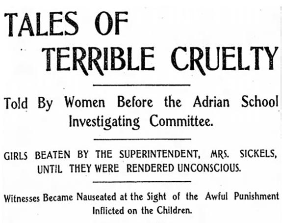TALES OF TERRIBLE CRUELTY