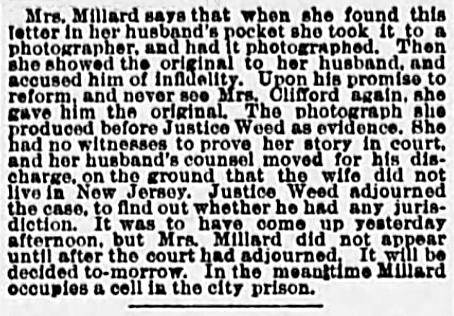B3_1888 30 May MILLARD case THE SUN New York New York Pg 6
